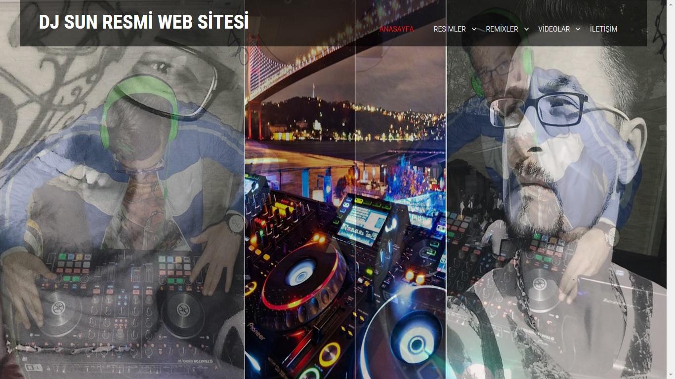 Dj Sun Web Sitesi