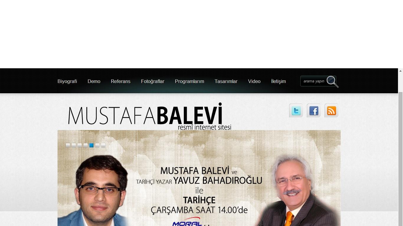 Spiker ve Seslendirmen Mustafa Balevi Web Sitesi